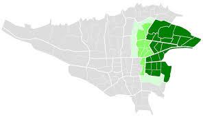 سمپاشی شرق تهران