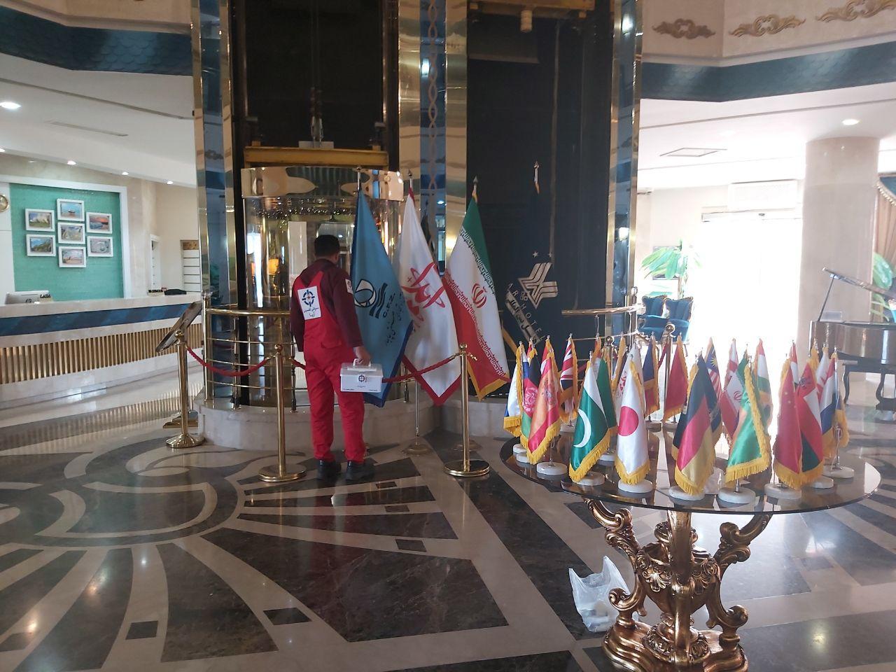 سمپاش هتل در تهران ، شیراز ، بوشهر ، عسلویه