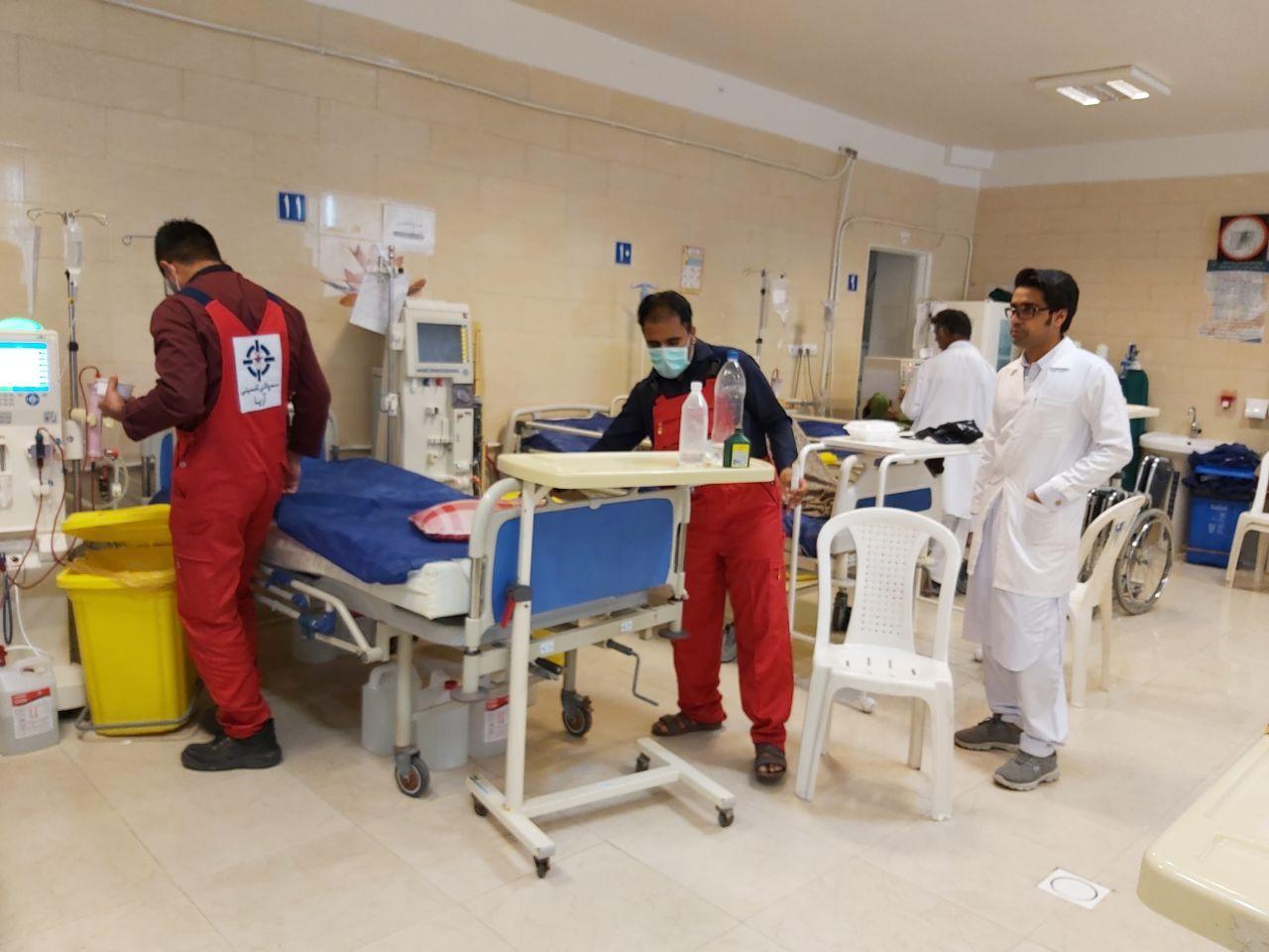 سمپاشی بیمارستان