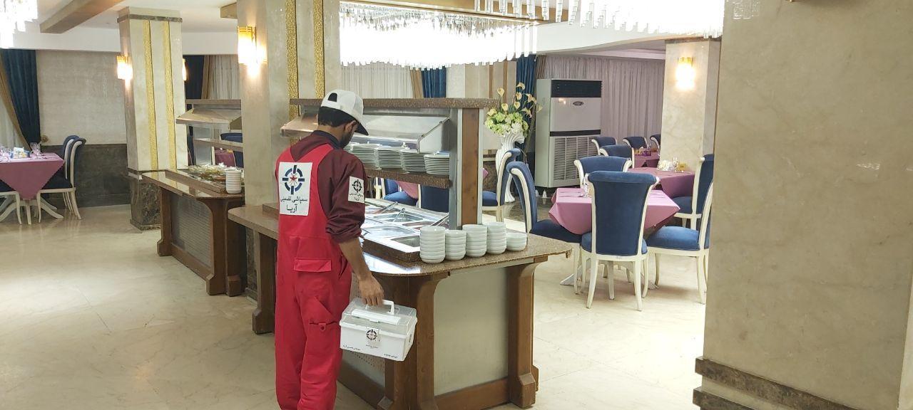 سمپاشی رستوران در بوشهر