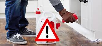 خطرات سمپاشی منازل